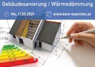 Online-Infoabend 'Thermische Sanierung/Wärmedämmung'