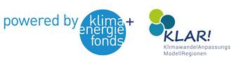 Logo Klar! Klimawandel-Anpassungs-Modellregionen