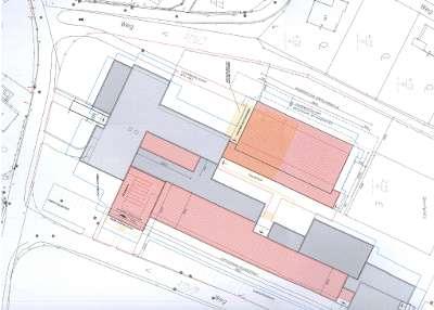 Lageplan der Zweifachturnhalle im Bundesschulzentrum am Flurweg
