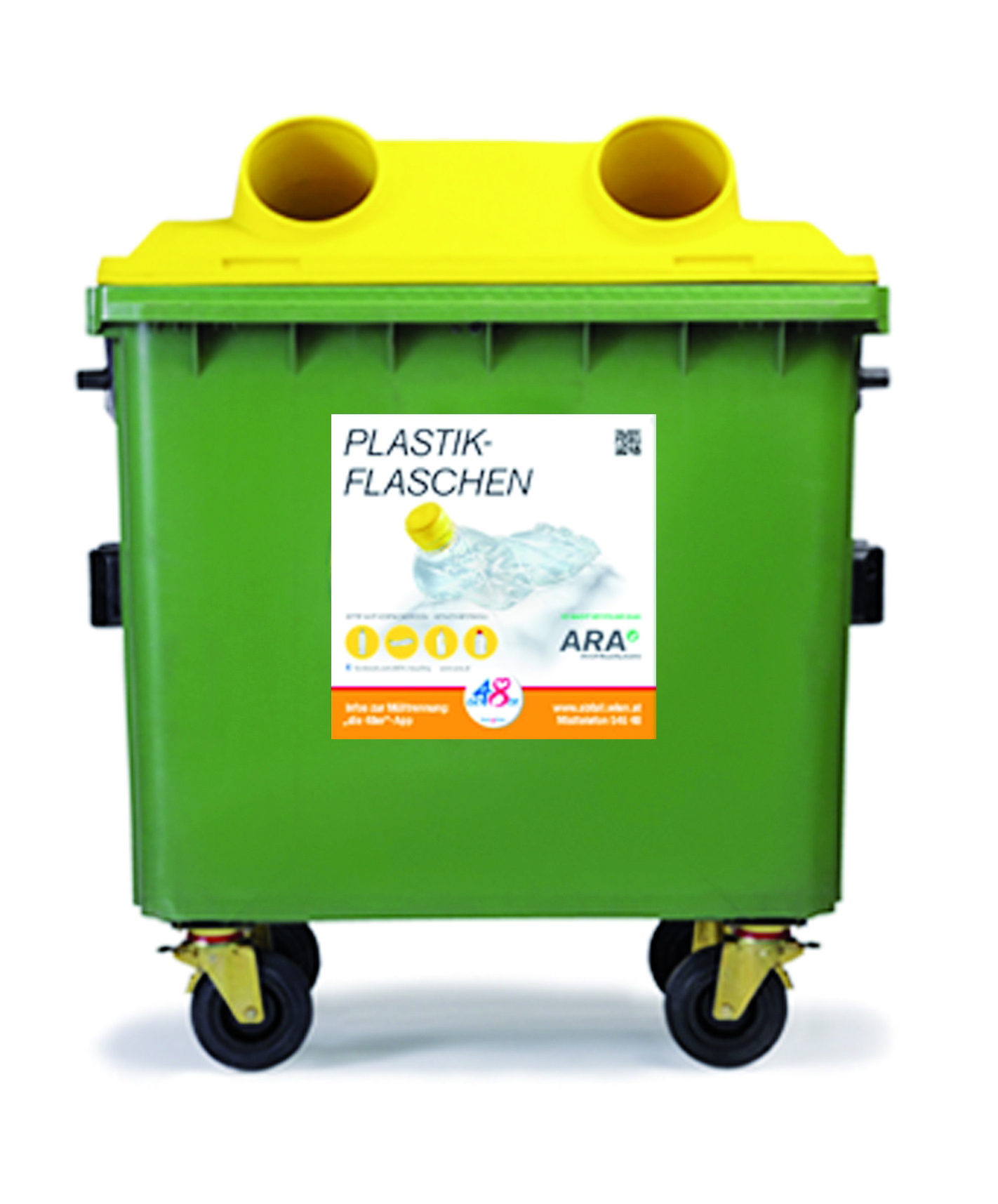 Gelbe Tonne für Plastikmüll